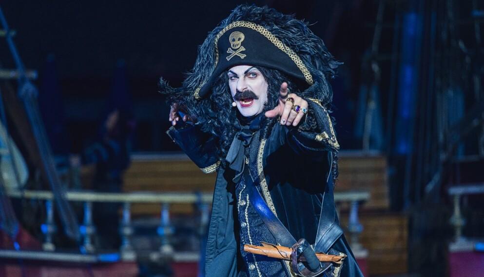 HIV O'HOI: Kaptein Sabeltann er ett av Dyreparkens store trekkplastere. FOTO: NTB Scanpix