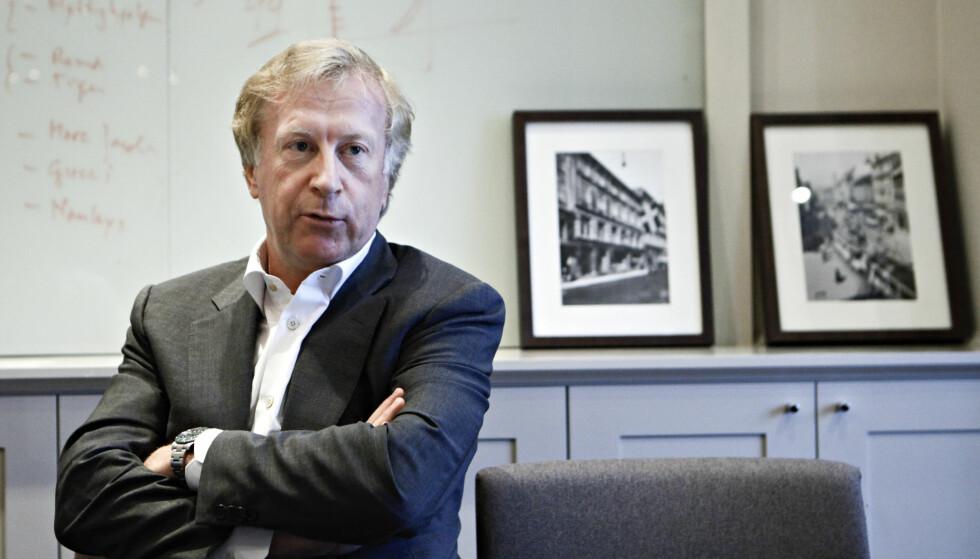 HJELPENDE HÅND: Carl Erik Krefting står bak selskapet Carucel Eiendom. Foto: Anette Karlsen / NTB Scanpix