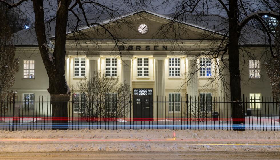 VIRUS-FRYKT: Den samlede verdien av aksjene på Oslo Børs stupte med svimlende 110 milliarder kroner mandag. Foto: Håkon Mosvold Larsen / NTB scanpix