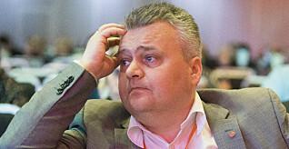 ADVARER: - Det kommende lønnsoppgjøret kan bli det tøffeste på mange år, sier Fellesforbundets leder Jørn Eggum. Foto: Terje Pedersen / NTB scanpix
