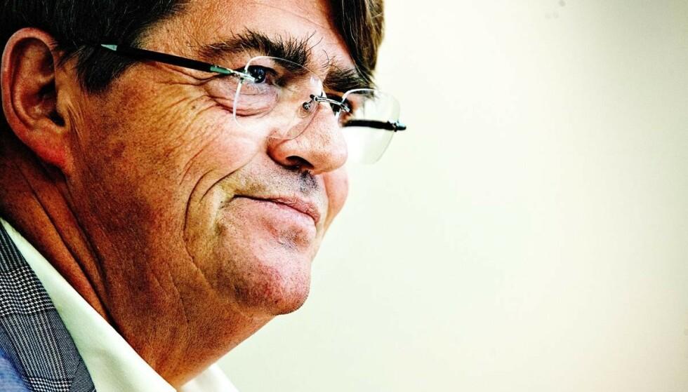 KRIGSERKLÆRING: Investor Jan Petter Sissener mener venstresiden går til krig mot Norges rike. Foto: Foto: Iván Kverme