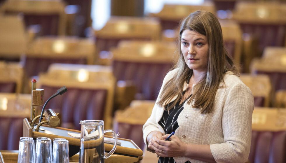RYSTET: - Jeg er rystet og skjemmes på vegne av sjømatnasjonen Norge, og at dette er tilstanden mange plasser, sier Aps fiskeripolitiske talsperson, Cecilie Myrseth, til Dagbladet..     Foto: Ole Berg-Rusten / NTB Scanpix