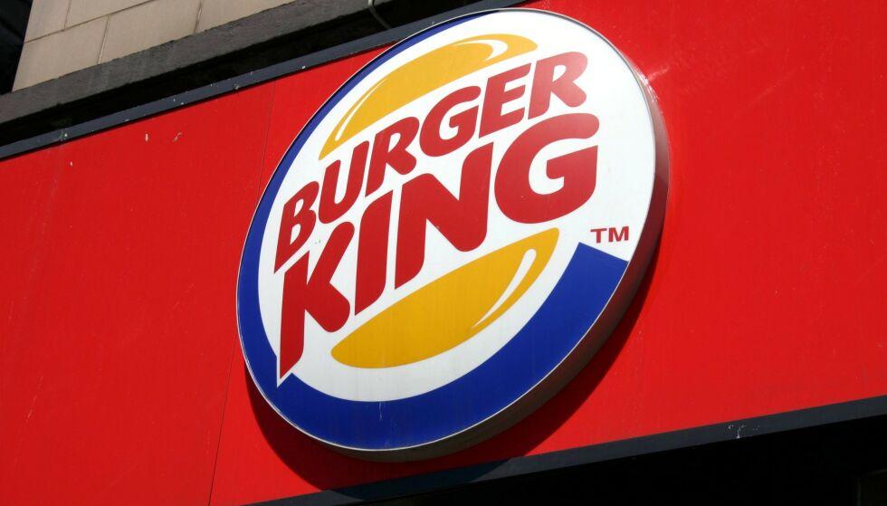 CORONA-TILTAK: Burger King tar ekstra grep i forsøk på å hindre smittespredning. Foto: NTB Scanpix