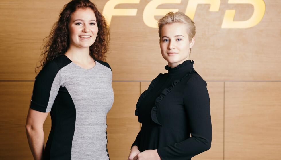 RIKE: Alexandra (t.v.) og Katharina Andresens formue er femdoblet. Foto: Ferd