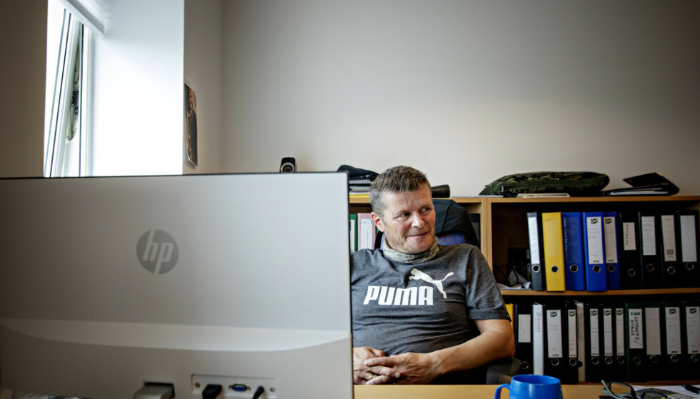 FISKEBRUKSJEF: Leif Kvivesen mener han kan dokumentere at Arbeidstilsynet tar feil. Foto: Nina Hansen / Dagbladet