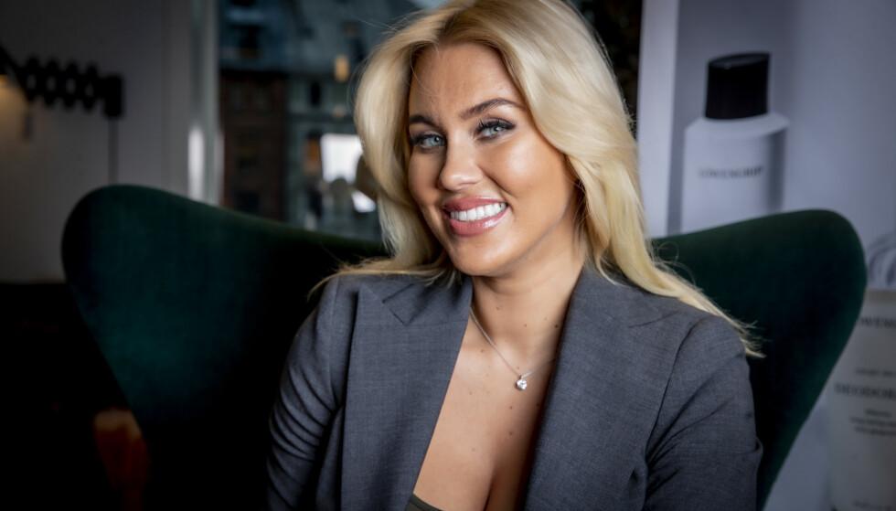 <strong>KRISE:</strong> Sveriges største blogger Isabella Löwengrip, også kjent som Blondinbella, har ikke lagt skjul på at hun har slitt den siste tida. Foto: Bjørn Langsem / Dagbladet