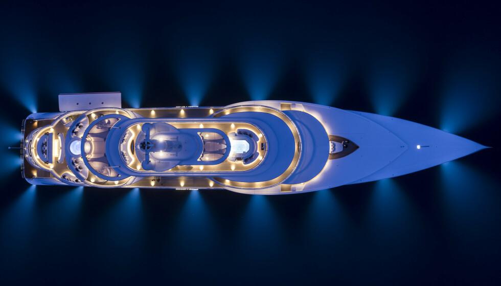 <strong>LEVER OPP TIL NAVNET:</strong> «Excellence» ble bygget av selskapet Abeking &amp; Rasmussen, mens Winch Design står for innredning av luksusflåten. Foto: Guillaume Plisson / Abeking &amp; Rasmussen