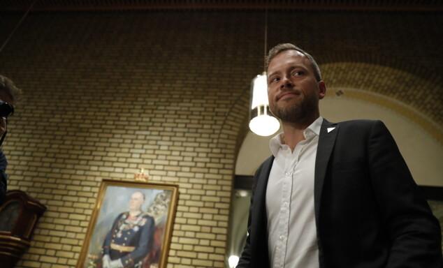 VIL ØKE: Audun Lysbakken (SV) vil øke formuesskatten. Foto: Bjørn Langsem / Dagbladet