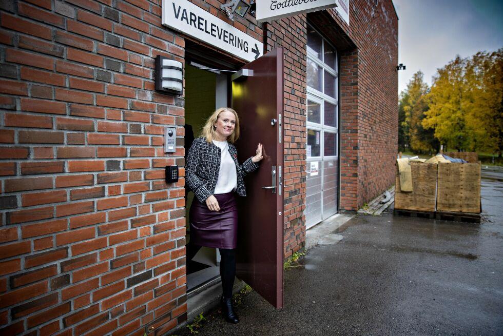 SLÅR ALARM: Arbeids- og sosialminister Anniken Hauglie (Høyre) mener norske ledere ikke har lært av metoo. Foto: Bjørn Langsem