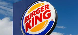 Burgerkrise: - Alle har fått seg en karamell