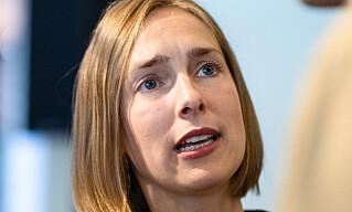 NEI: Ingen nødhjelp å få fra næringsminister Iselin Nybø (V) for et hardt presset reiseliv. Foto: Audun Braastad / NTB scanpix
