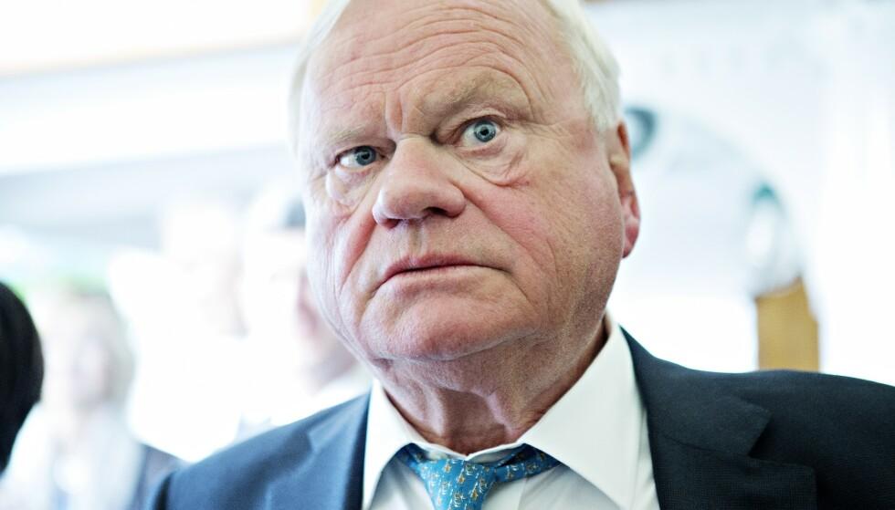 GÅR AV: John Fredriksen slutter umiddelbart som styreleder i riggselskapet Seadrill. Foto: Nina Hansen / Dagbladet