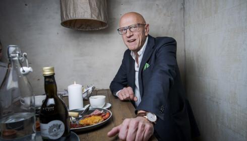 SER FRAMOVER: Torbjørn Ek har ingen planer om å pensjonere seg med det første. Foto: Lars Eivind Bones / Dagbladet