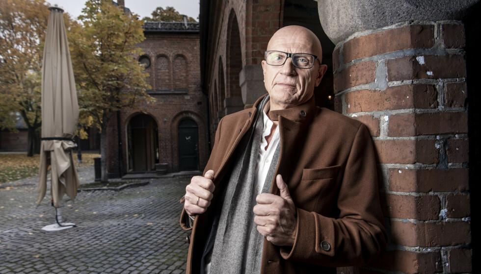 BRØT MED PARTNEREN: Torbjørn Ek ønsker ikke å si stort om bakgrunnen for det brutte samarbeidet med en av hans da nærmeste kolleger. Foto: Lars Eivind Bones / Dagbladet