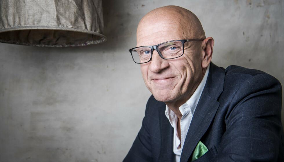 GRUNN TIL Å SMILE: De siste 20 åra har Torbjørn Eks selskap solgt nærmere 4000 boliger til anslått verdi på 30 milliarder kroner. Foto: Lars Eivind Bones / Dagbladet