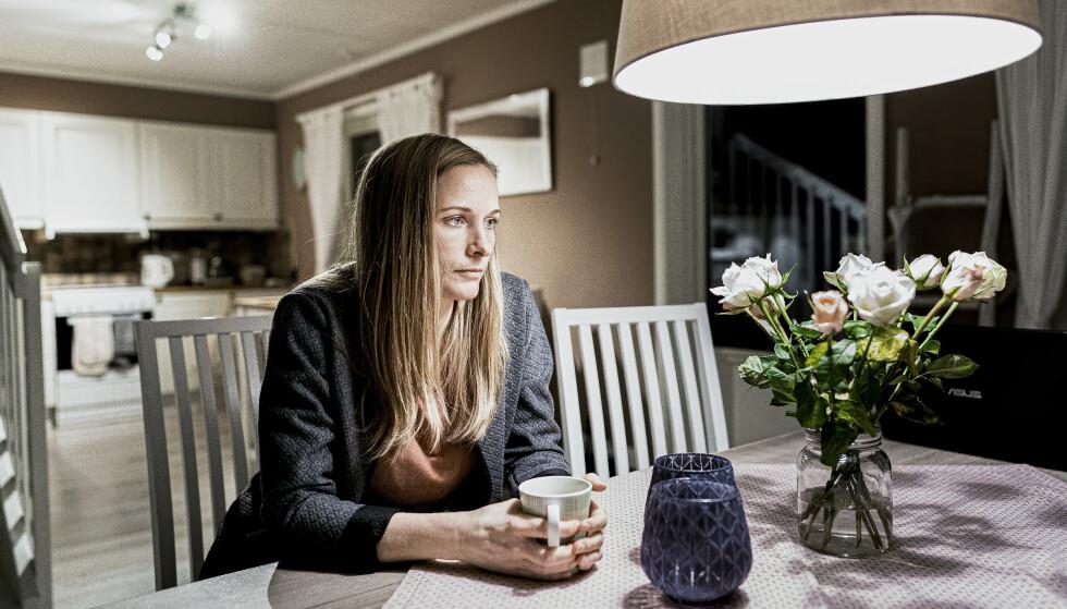 <strong>STERK HISTORIE:</strong> I samråd med eks-samboerens øvrige familie, deler Anne Bolsø historien med podkasten Utafor og med Børsen. Foto: John Terje Pedersen / Dagbladet