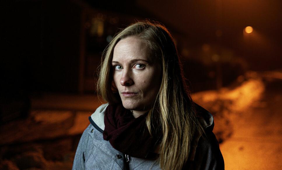 <strong>SKREKKSITUASJON:</strong> Anne Bolsø levde et trygt og godt familieliv, sammen med kjæreste og barn. Så falt tilværelsen i grus. Foto: John Terje Pedersen / Dagbladet