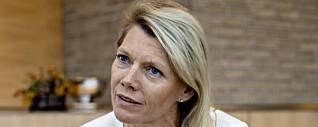 <strong>TAUSHET:</strong> DNB vil ikke opplyse om betingelsene for toppsjef Kjerstin Braathen før årsrapporten for 2019. Foto: Jørn H Moen