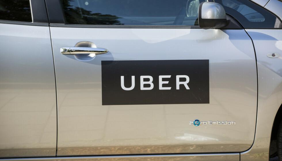 MOTSTAND: Britiske transportmyndigheter har nektet å fornye Ubers lisens. Selskapet har allerede anket avgjørelsen. Foto: NTB Scanpix