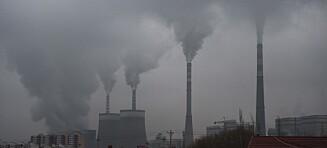 Studie: Luftforurensning kan forkorte liv med nesten tre år
