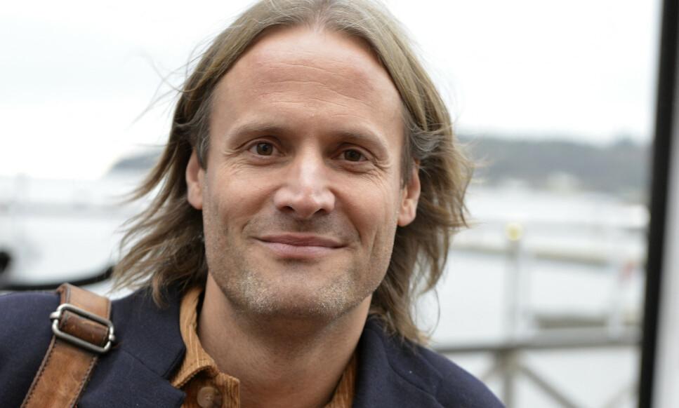 SKEPTISK: Klesgründer Frode Strømman er skeptisk til hvordan «black friday»-konseptet har utviklet seg, og frykter for framtida til klesbutikkene. Foto: Carl Christian Engstad / Lillesands-Posten