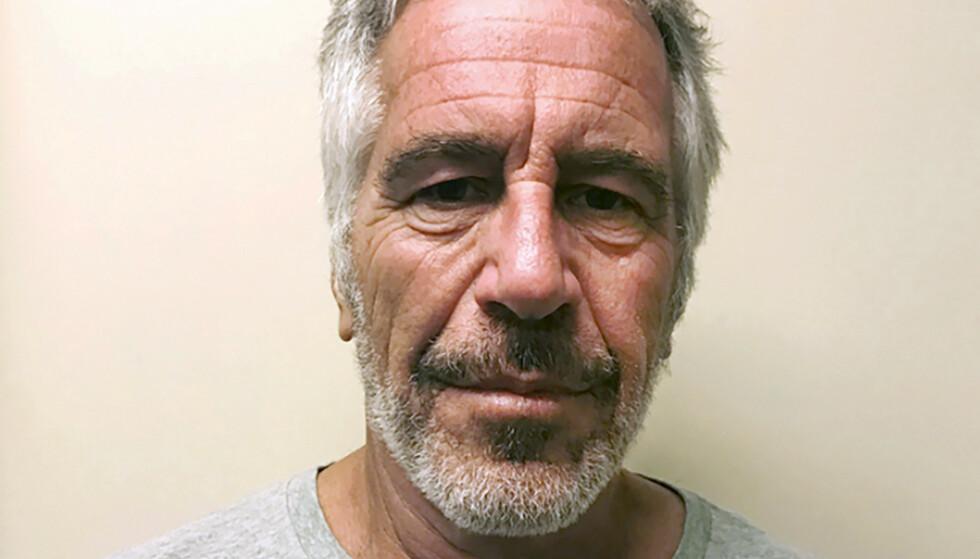 OVERGREPSANKLAGET: Jeffrey Epstein. Foto: New York State Sex Offender Registry via AP / NTB scanpix
