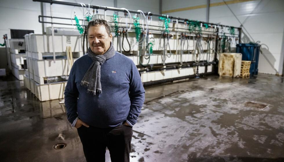 BEKYMRET: Svein Ruud i Norway King Crab er bekymret for den ulovlige landingen av kongekrabbe. Norge eksporterer mye mer kongekrabbe enn det som blir registrert. Foto: Øistein Norum Monsen / Dagbladet