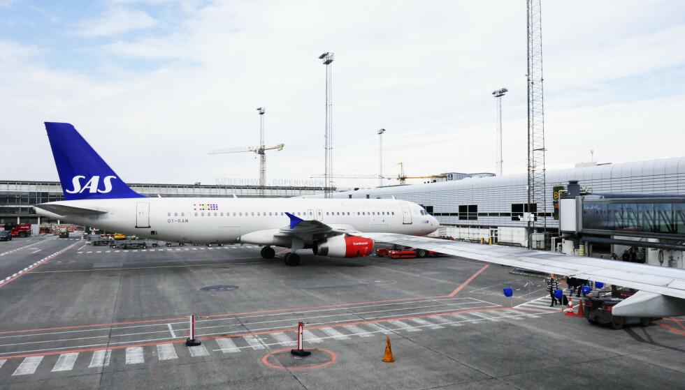 NEDGANG: Dansker flyr litt mindre etter ti år med økning i antall avreiser fra Kastrup. Foto: Erik Johansen / NTB scanpix