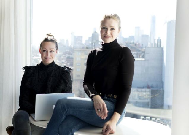 HOLDER STENGT: Anne Hauge Stensland og Milena Vormedal Bech sier de valgte å stenge nettbutikken for å tydeliggjøre hva Black Friday gjør med mindre bedrifter. Foto: Privat