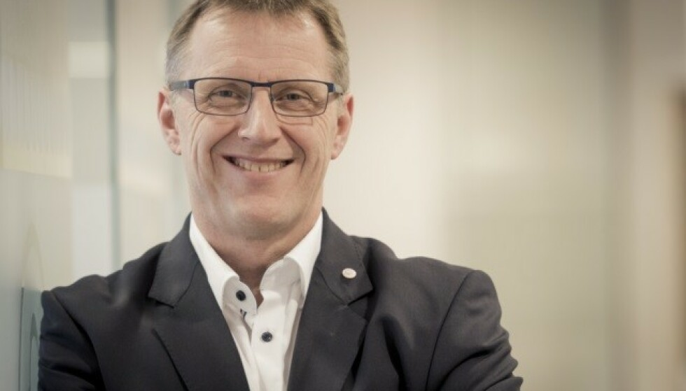 SLUTTER: Per-Arne Hanssen er ferdig som banksjef i Hønefoss Sparebank etter en kritisk rapport fra Finanstilsynet. Foto: Hønefoss Sparebank.