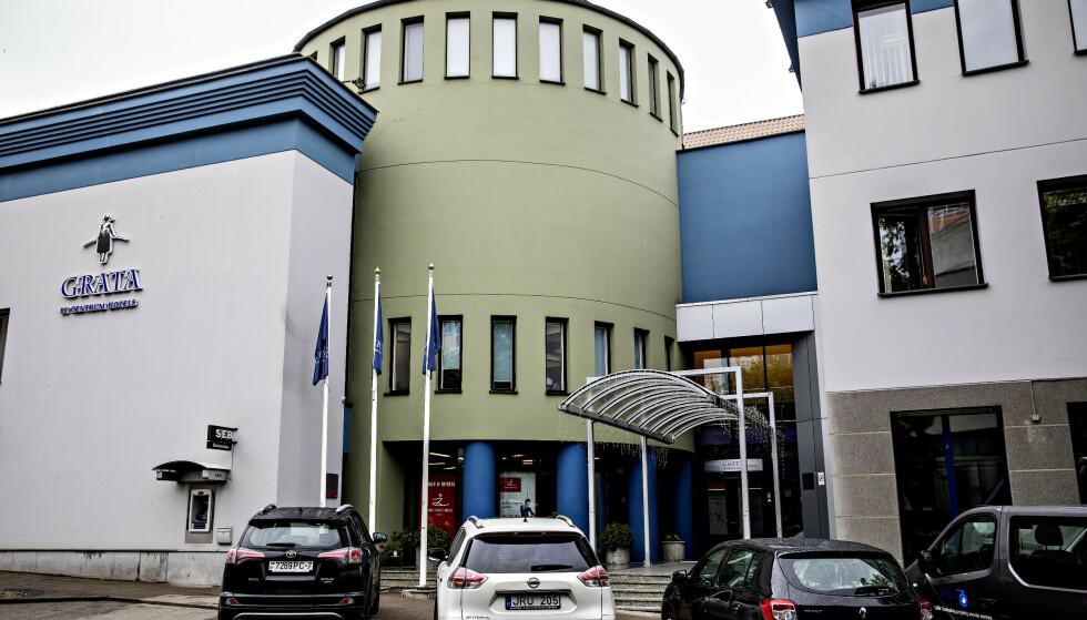 KONTORHOTELL: Grata, der Arcticus holder til, er et trestjerners hotell i Vilnius, som også inneholder kontorer og konferansefasciliteter. Foto: Nina Hansen / Dagbladet