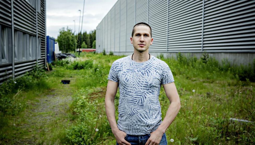 SKULLE HOLDE KJEFT: Vaidas Sakalauskas fikk beskjed om at han ikke skulle få mer jobb i Norge, hvis han fortalte om hva som hadde skjedd. Foto: Nina Hansen / DAGBLADET