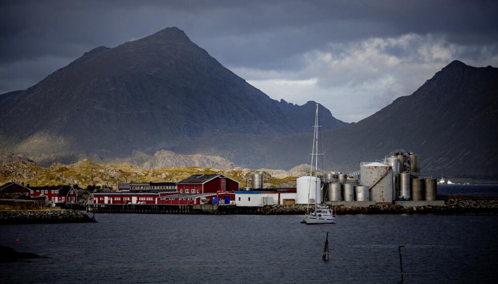 <strong>SPREKKER I IDYLLEN:</strong> Hos Lofoten Fish Export har Arbeidstilsynet slått fast flere lovbrudd. Foto: Nina Hansen / DAGBLADET