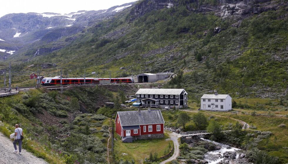 VANT; Vy har vunnet anbudsrunden for det som kalles Trafikkpakke Vest, som omfatter togstrekningene Oslo S – Bergen, Bergen – Voss – Myrdal og Bergen – Arna.  Foto: Marianne Løvland / NTB scanpix