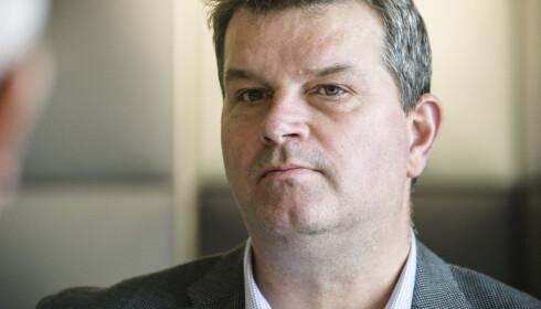 UAKSEPTABELT: Lederlønnsvekst på 10 prosent og mer er totalt uakseptabelt, sier LO-leder Hans Christian Gabrielsen. Foto: Lars Eivind Bones