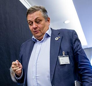 ADVARER: NITO-president Trond Markussen. Foto: Stian Lysberg Solum / NTB scanpix