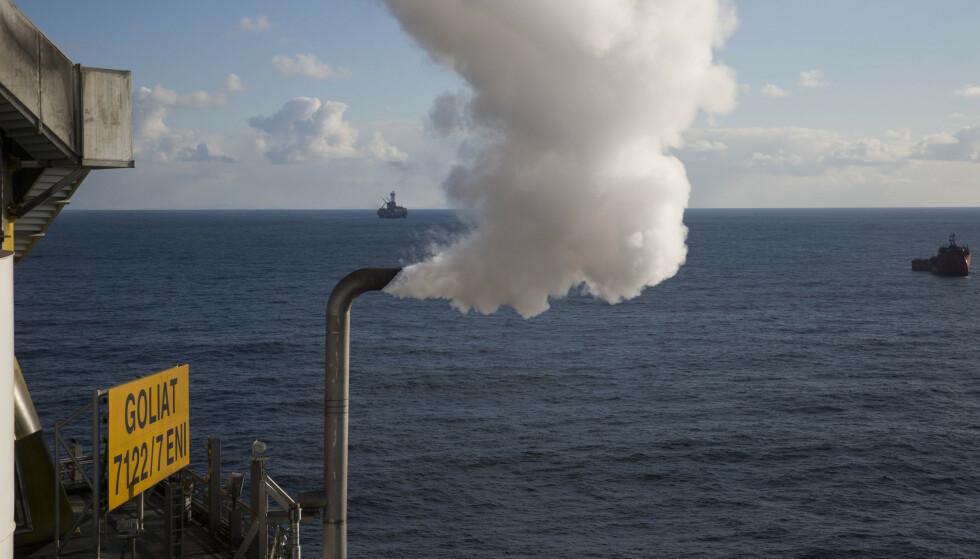 <strong>GOLIAT:</strong> Goliat-plattformen i Barentshavet. Vår Energi er operatør. Foto: Jan-Morten Bjørnbakk / NTB scanpix