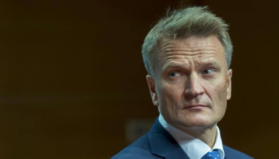 GÅR AV: Visesentralbanksjef Egil Matsen. Foto: Vidar Ruud / NTB scanpix
