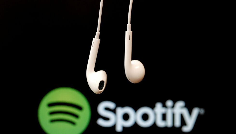 VIL LEGGE NED: Spotify bekrefter at de har planer om å legge ned sitt kontor i Norge. Foto: Christian Hartmann / Reuters / NTB Scanpix