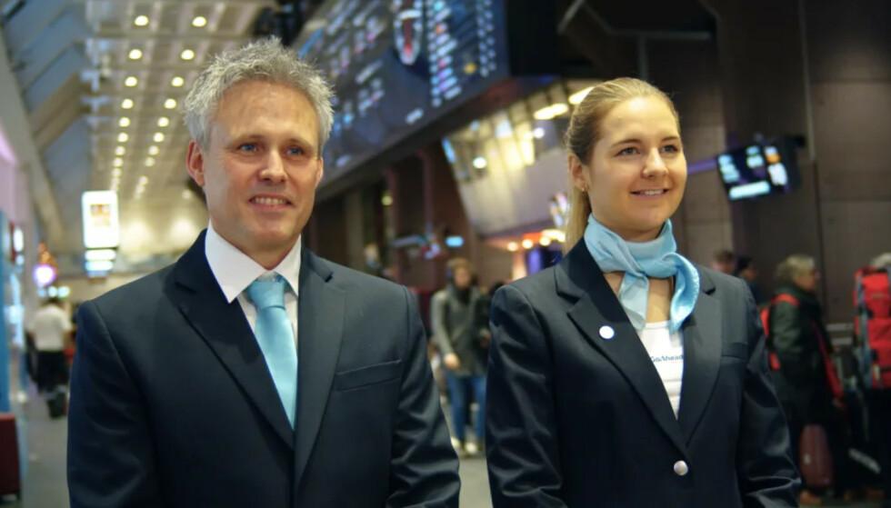 BLIR NYTT: Ny meny og nye uniformer (bildet) er endringer passasjerene om bord «Sørtoget» vil kunne merke. Foto: Go-Ahead