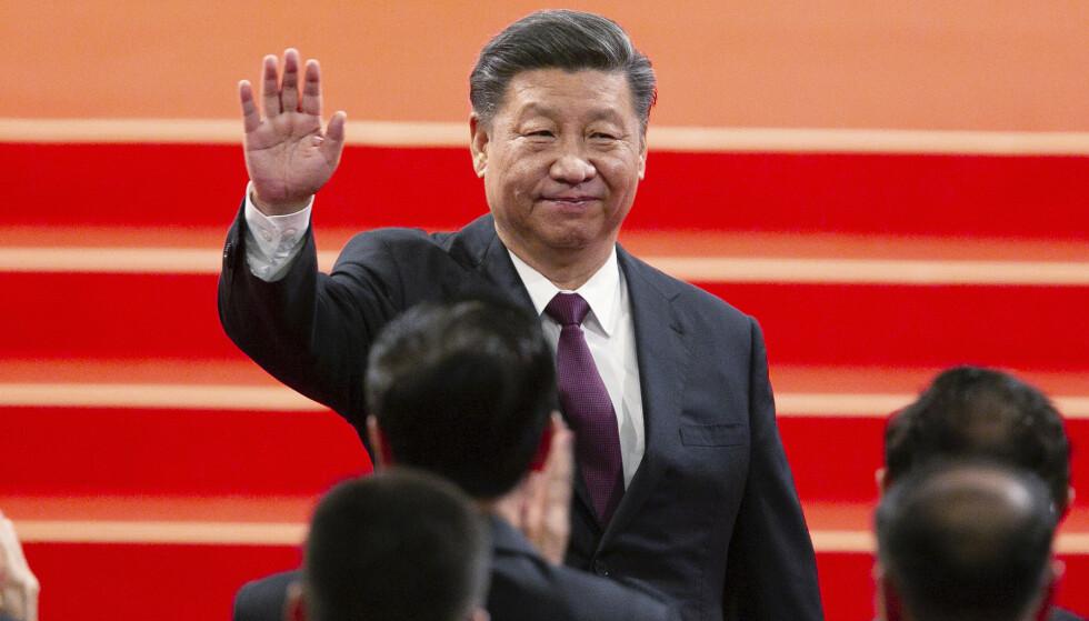 Kinas president Xi Jinping senker tollsatsene på en rekke varer. Foto: AP / NTB scanpix