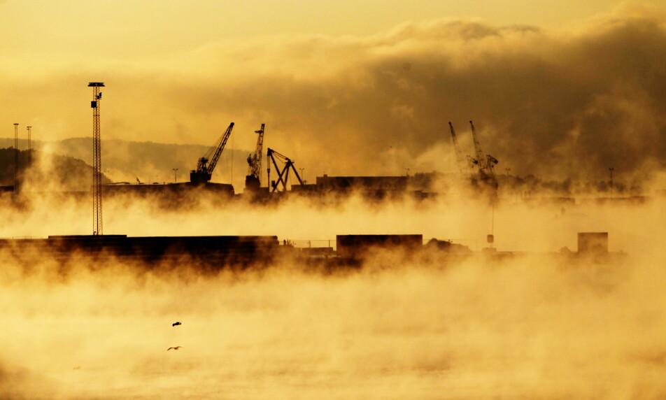OPPGJØR: Norske bedrifter vil løse klimakrisa, hevder NHO-sjefen. Fagforeningstopper ber om at han først rydder i eget hus. Foto: Cornelius Poppe, NTB scanpix