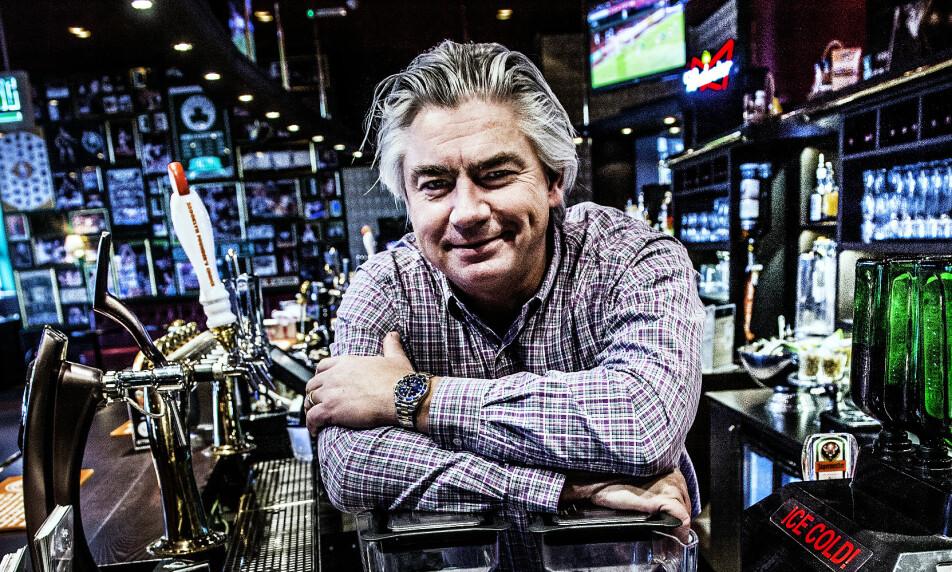 POPULÆRT KONSEPT: Restaurantkjeden O'Learys har en klar plan for sin ekspansjon de neste fem åra. Avbildet er den svenske grunnleggeren, Jonas Reinholdsson. Foto: NTB Scanpix
