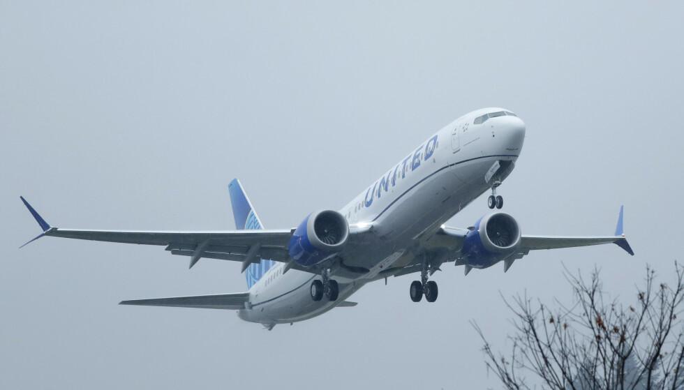 <strong>NY FEIL:</strong> Flyprodusenten Boeing kan ha oppdaget nok en feil ved skandaleflyet MAX 737. Foto: Ted S. Warren / AP / NTB Scanpix