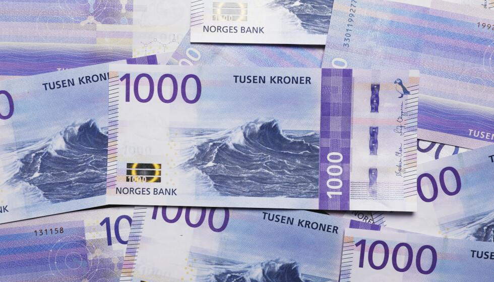 SNUOPERASJON: Nordmenns tillit til norsk økonomi har aldri økt så mye fra en måned til en annen som nå, ifølge forbrukertillitsindeksen for mai. Illustrasjonsfoto: Ole Berg-Rusten / NTB scanpix