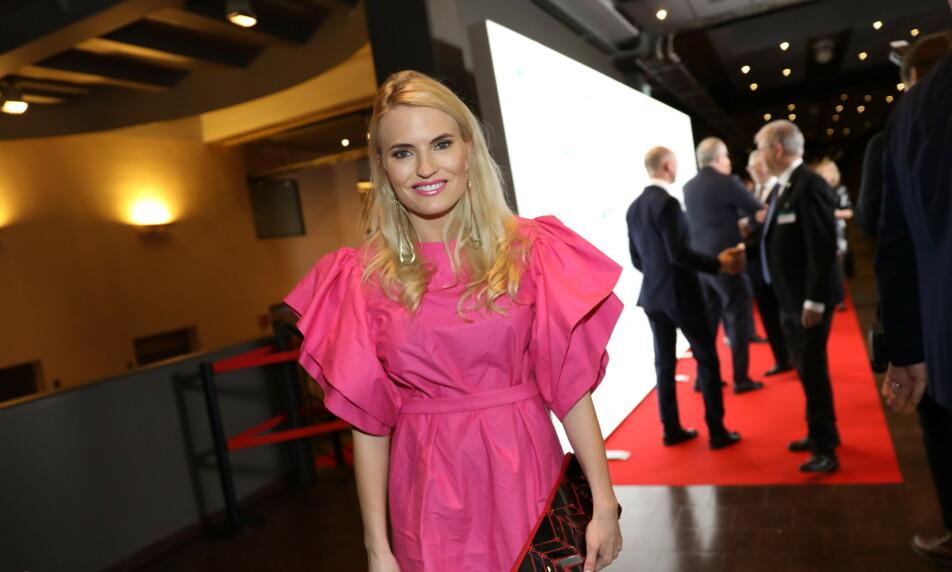 OSLO SPEKTRUM: Isabelle Ringnes er blant deltakerne på NHOs årsmiddag. Foto: Christian Roth Christensen / Dagbladet