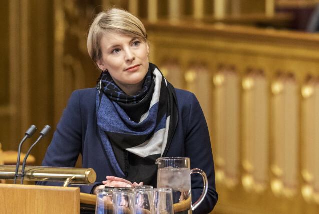 <strong>- EN SKAM:</strong> SV-topp Kari Elisabeth Kaski er soleklar i sin mening. Foto: Ole Berg-Rusten / NTB Scanpix