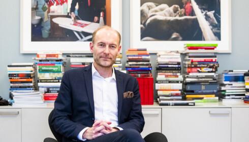 ALDRI MER: Fritt Ord-leder Knut Olav Åmås sier det er uaktuelt å besøke Norske selskab igjen etter kvinnebråket. Foto: Håkon Mosvold Larsen / NTB Scanpix