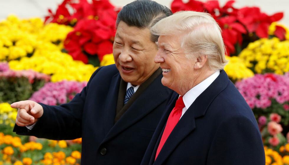 INGEN ENIGHET: Det er ingen enighet om å redusere tollsatsene mellom USA og Kina, melder amerikanske myndigheter. Foto: Thomas Peter / Reuters / NTB Scanpix