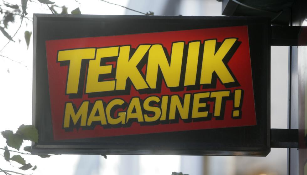 <strong>KONKURS:</strong> Teknik Magasinet, som har rundt 30 butikker i Norge, har valgt å kaste inn håndkledet i Sverige etter flere vanskelige år. Foto: NTB Scanpix